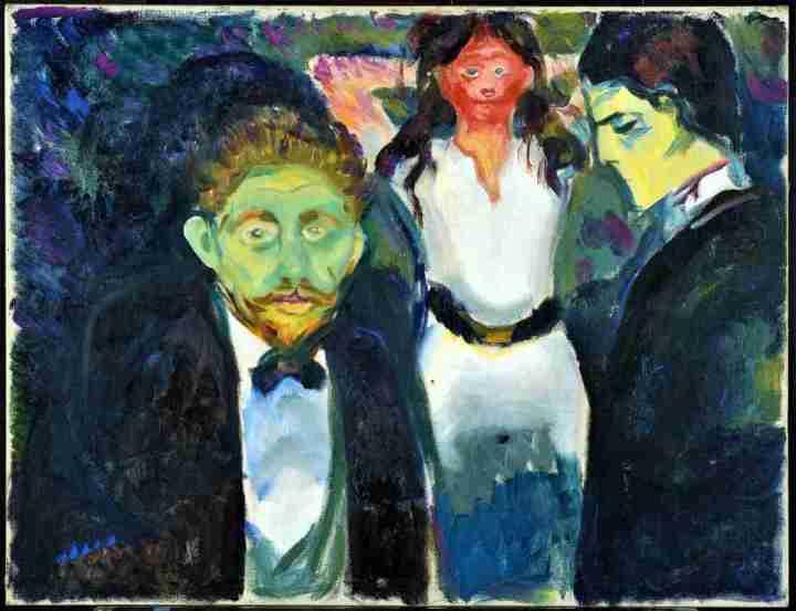 Edvard-Munch-celos