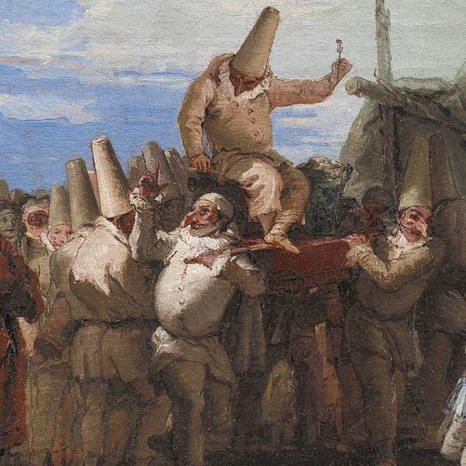 04-Giovanni-Domenico-Tiepolo-Pulcinella-particolare-665x665