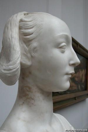 Desiderio da Settignano - Marietta Strozzi (Berlino, Staatliche Museen, 1460)