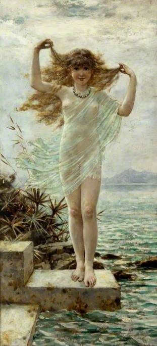 Coleman, William Stephen, 1829-1904; A Naiad