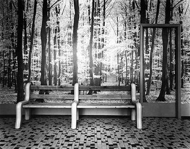 wachtzaal bos