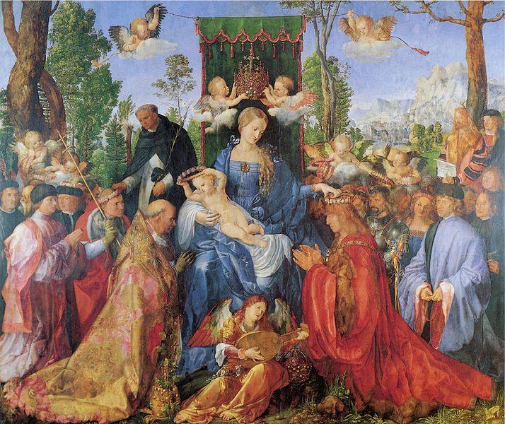 Het-Rozenkransfeest-Albrecht-Durer-Venetie-Praag
