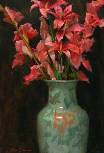 pink-gladiolus
