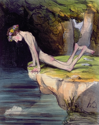 the-beautiful-narcissus-honore-daumier.jpg