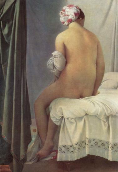 INGRES, Jean Auguste Dominique Ingres, Baadster van Valpinçon, 1808.jpg