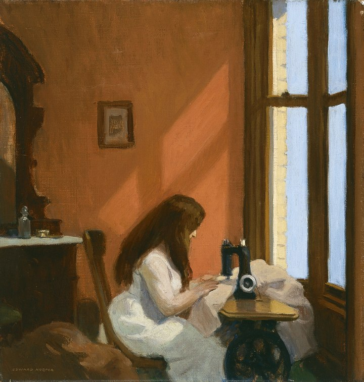 Edward_Hopper_-_Girl_at_a_Sewing_Machine_(1921)