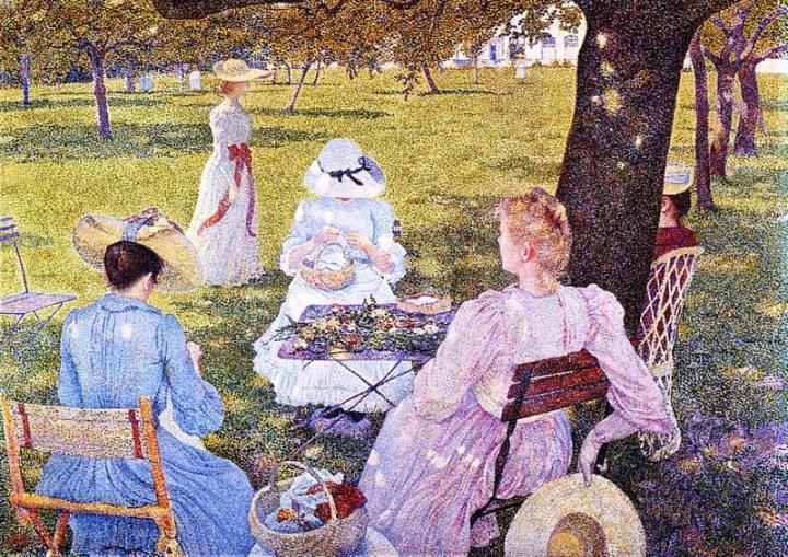 family i the orchard