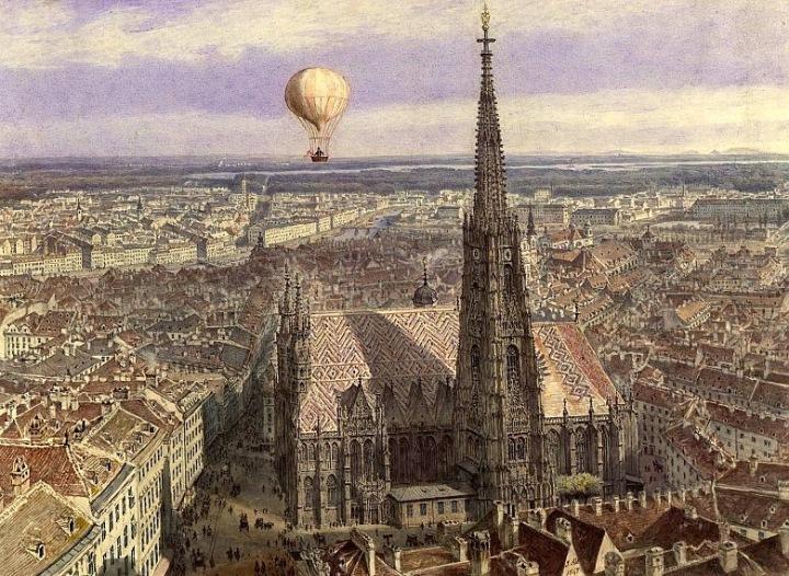 jakob_alt_ballonfahrt_ueber_wien_aquarell_1847_original