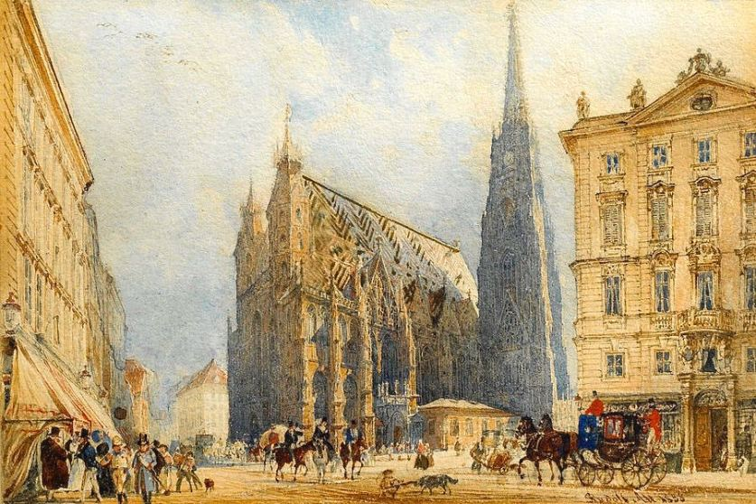 rudolf-stephansplatz-in-vienna-with-the-cathedral-rudolf-von-alt