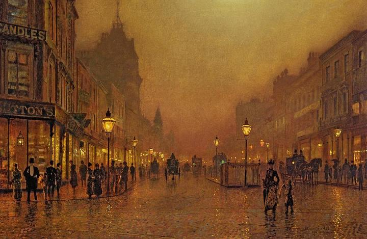 1-a-street-at-night-john-atkinson-grimshaw