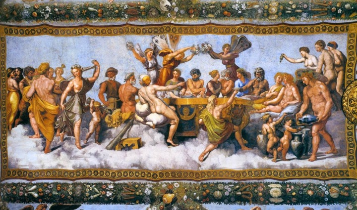 Asamblea-Bodas de Psyche y Eros_1517_RAFFAELLO_Sanzio-VillaFarnesina