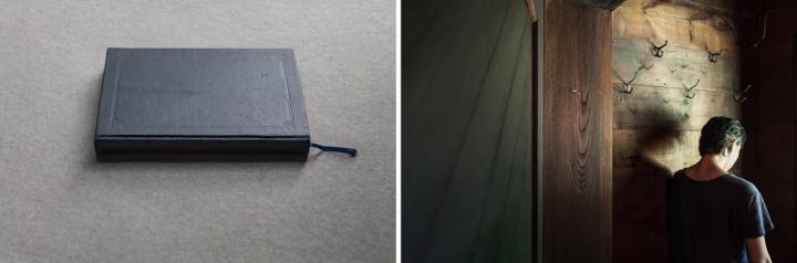 dagboek en rugzijde