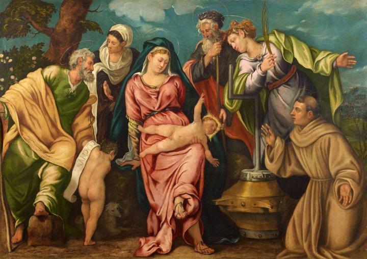 Tintoretto-Sacra-Conversazione-Molin
