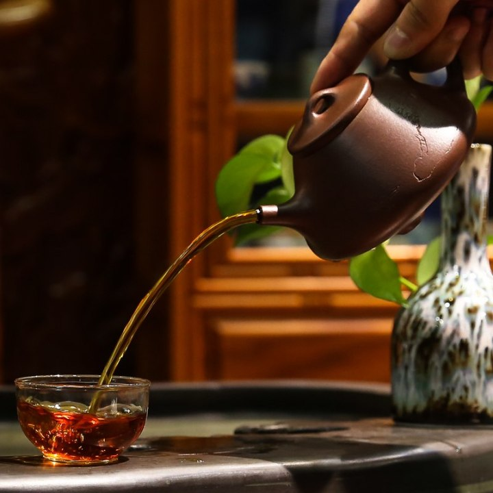 ZGJGZ-Antieke-Chinese-Theepot-Handgemaakte-Yixing-Paarse-Klei-Thee-Proeverij-voor-Thee-Ceremonie-Kleine-Thee-Pot