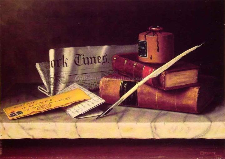 still-life-with-letter-to-thomas-b-clarke