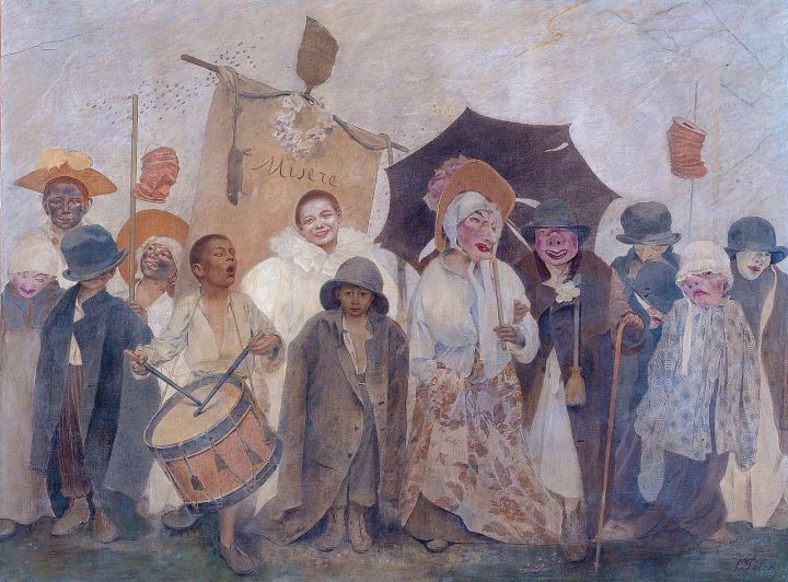 Fernand_Pelez,_La_Vachalcade,_1896,_Musée_du_Petit_Palais,_Paris