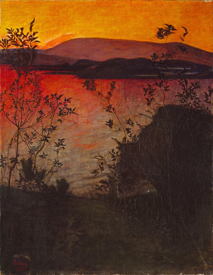 Harald_Sohlberg_-_Evening_Glow_-_Google_Art_Project