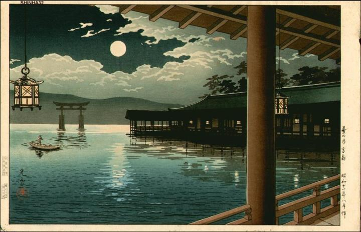 tsuchiya_koitsu-collection_of_views_of_japan-summer_moon_at_miyajima-00027680-050925-f12