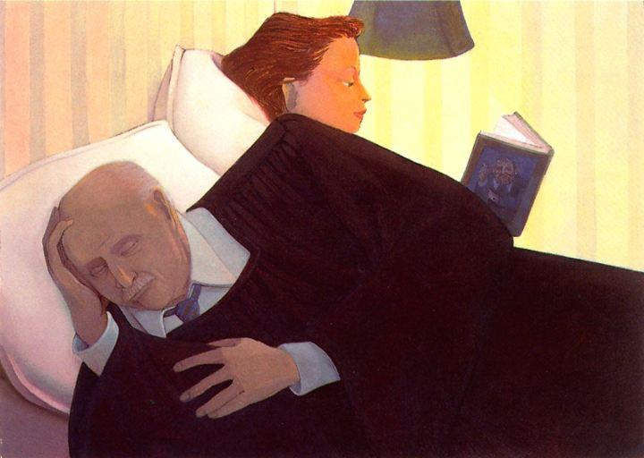 Stevovich, Andrew - Sleeping judge, 1979