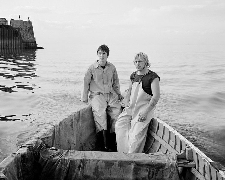 Blackie,+Mato+Smith+at+sea,+1982
