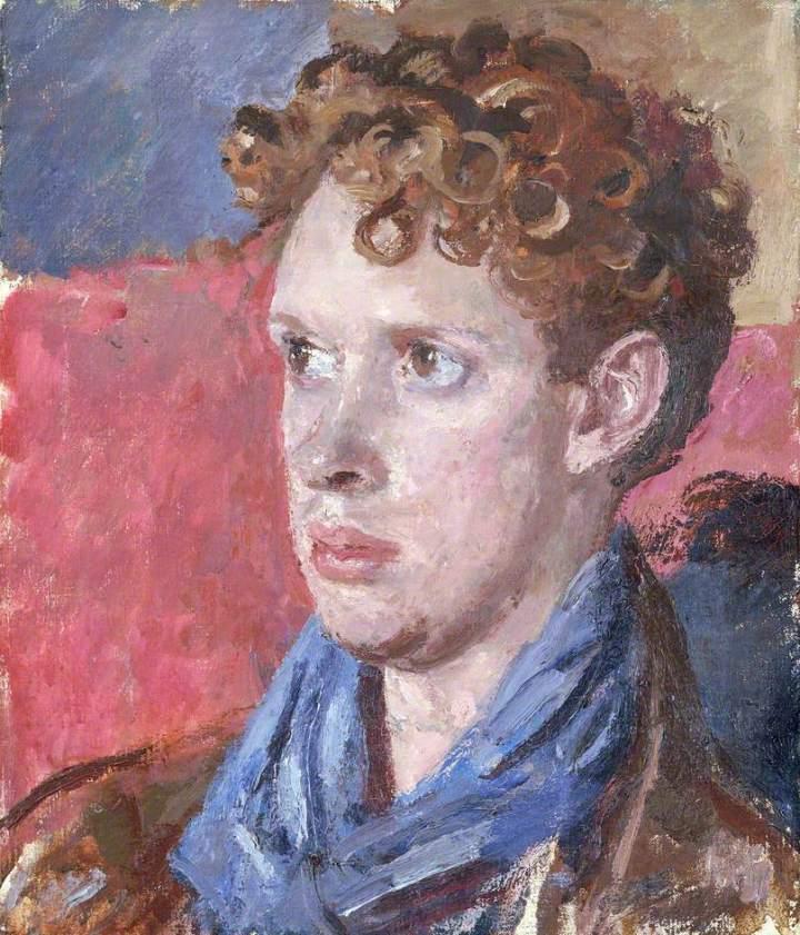 John, Augustus Edwin, 1878-1961; Dylan Thomas (1914-1953)