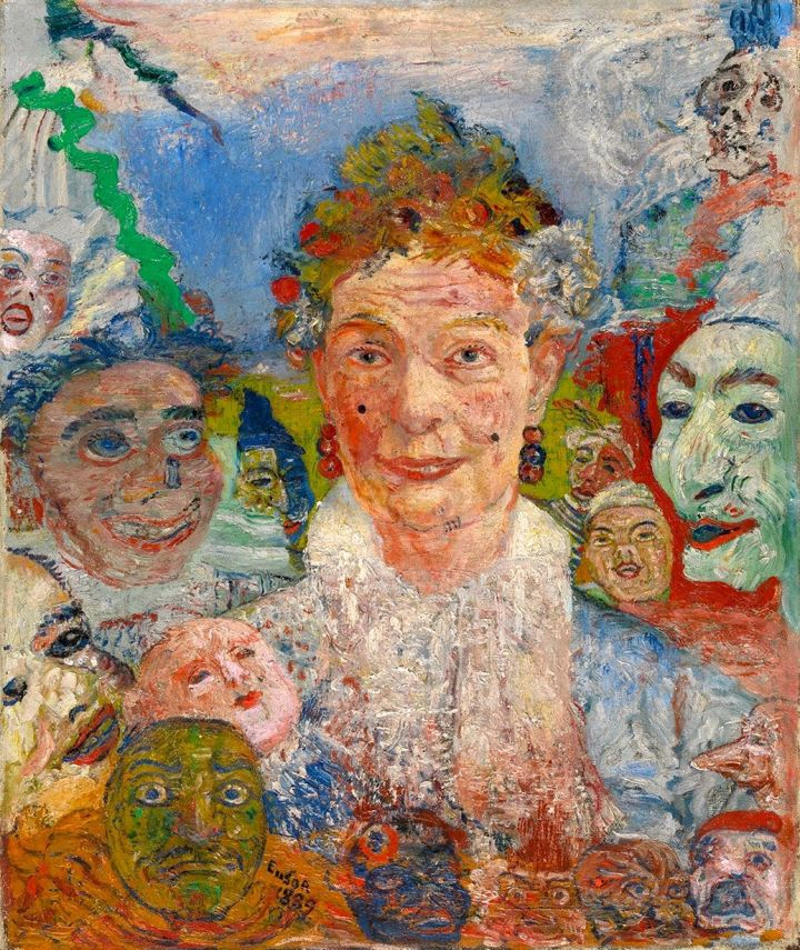 ensor old lady