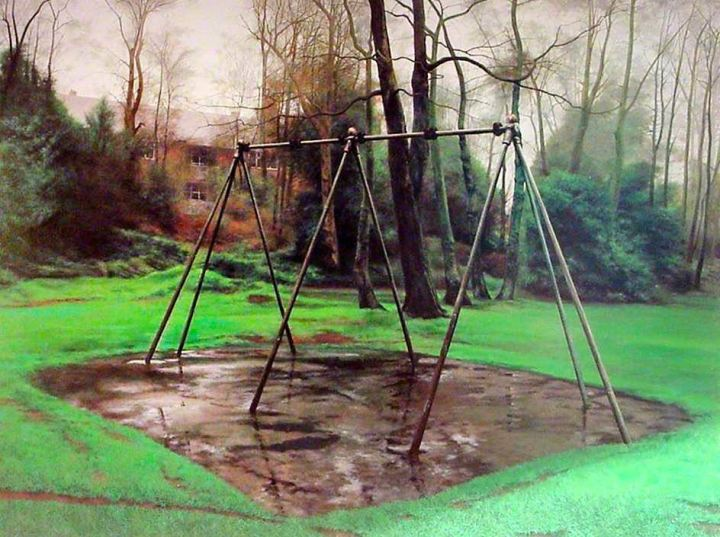Shaw, George, b.1966; Scenes from the Passion: The Swing