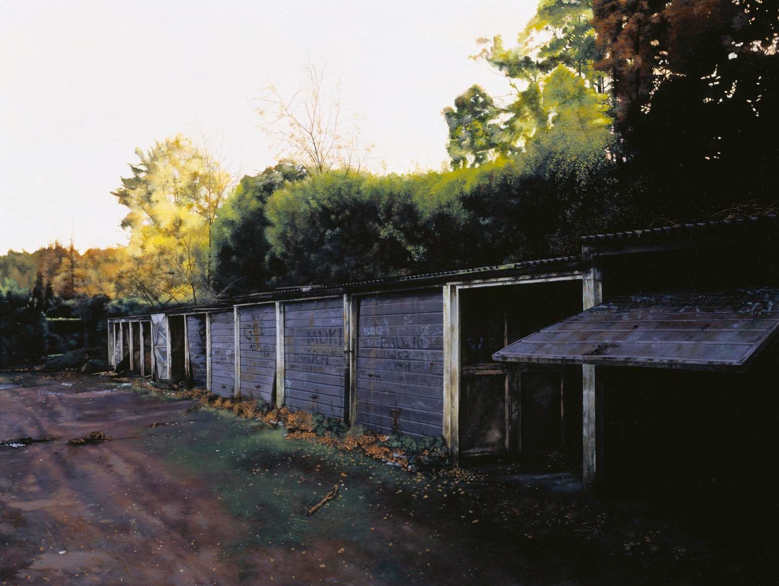 Scenes from the Passion: Late 2002 by George Shaw born 1966