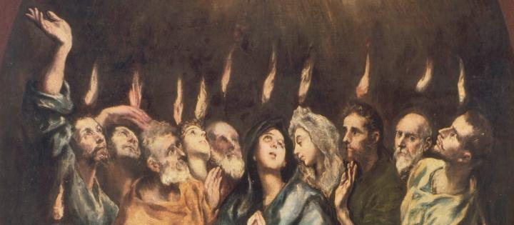 El Greco, Ausgiessung des Hl.Geistes