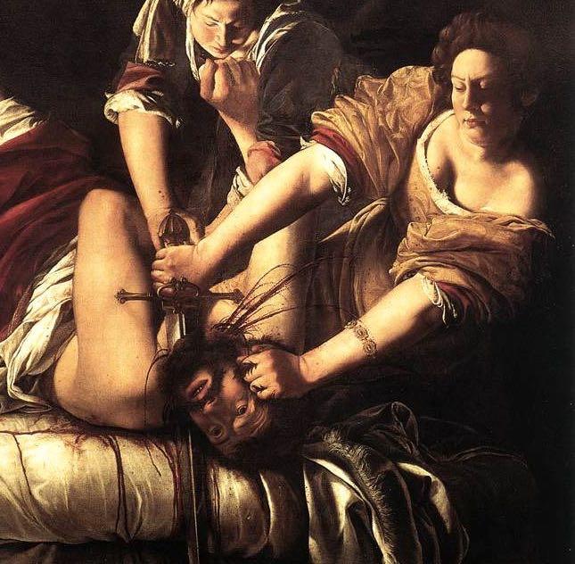 fragment GENTILESCHI_Judith