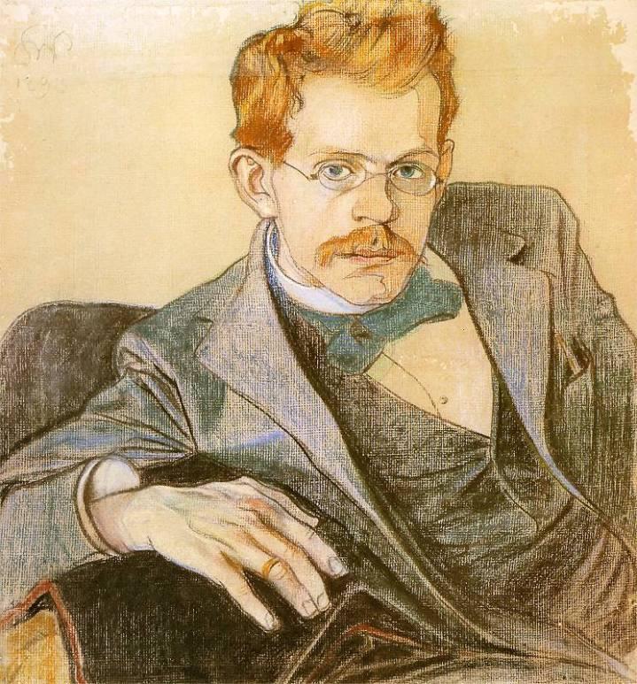 Józef_Mehoffer_by_Wyspiański,_1898