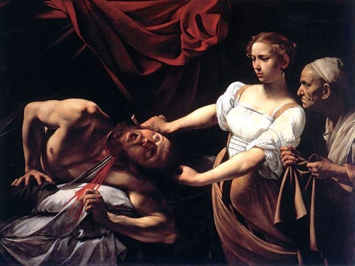 Judith-Beheading-Holofernes-by-Caravaggio-1598-1599