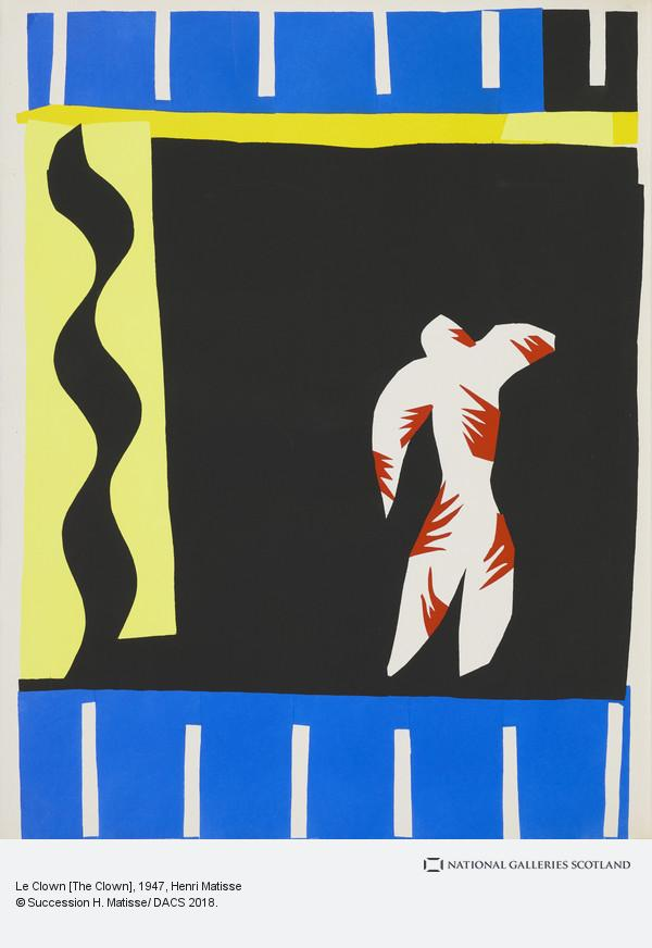 matisse clown