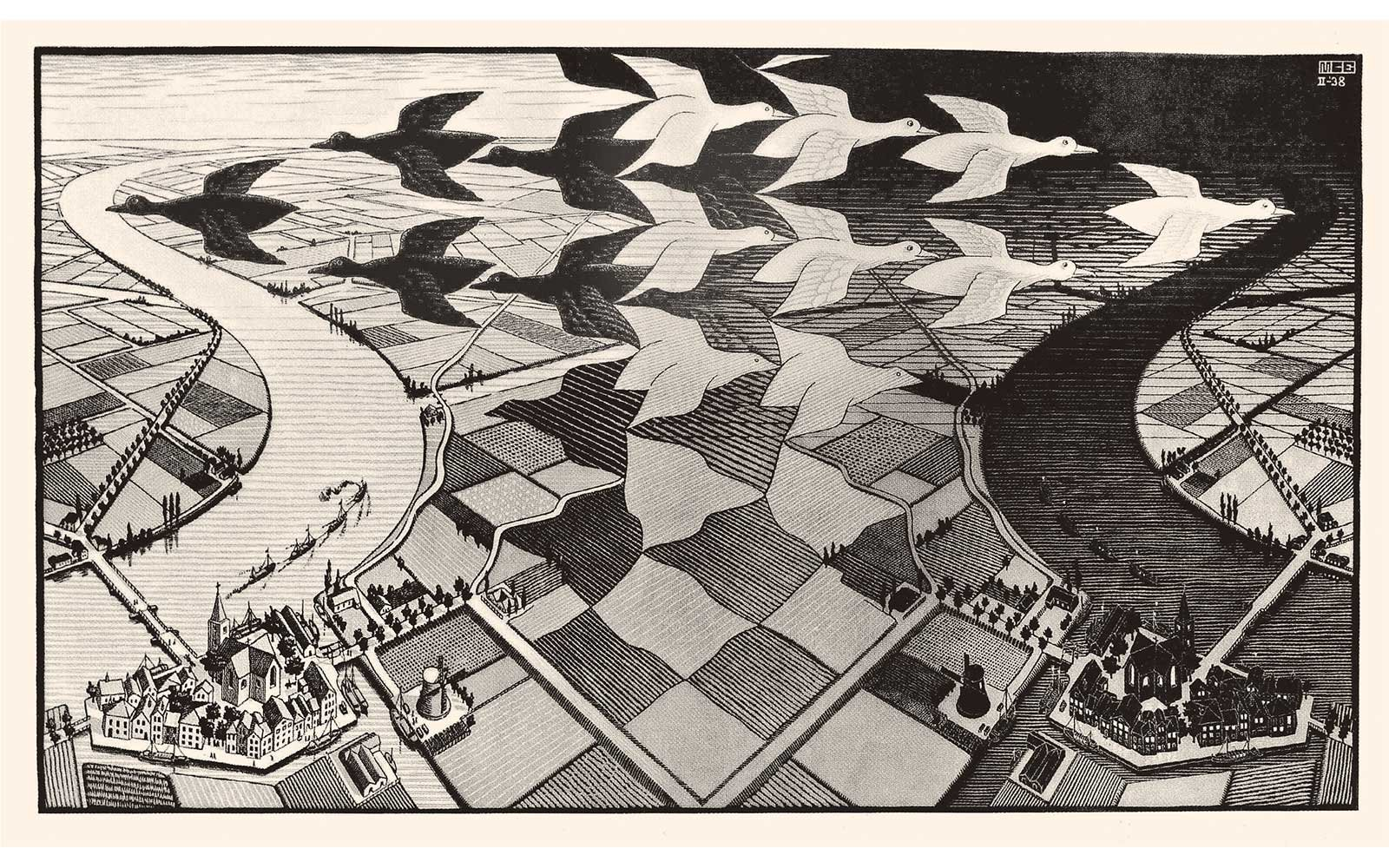 mc-escher-day-and-night-ESCHER0618