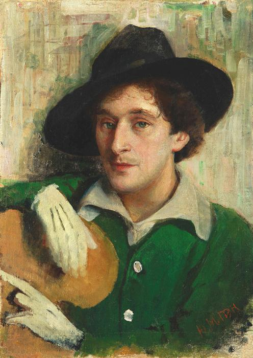 Yury_Pen_-_Portrait_of_Marc_Chagall