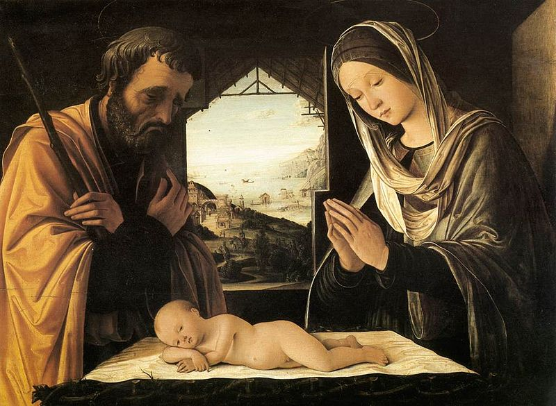800px-Lorenzo_Costa_-_Nativity_-_WGA5430