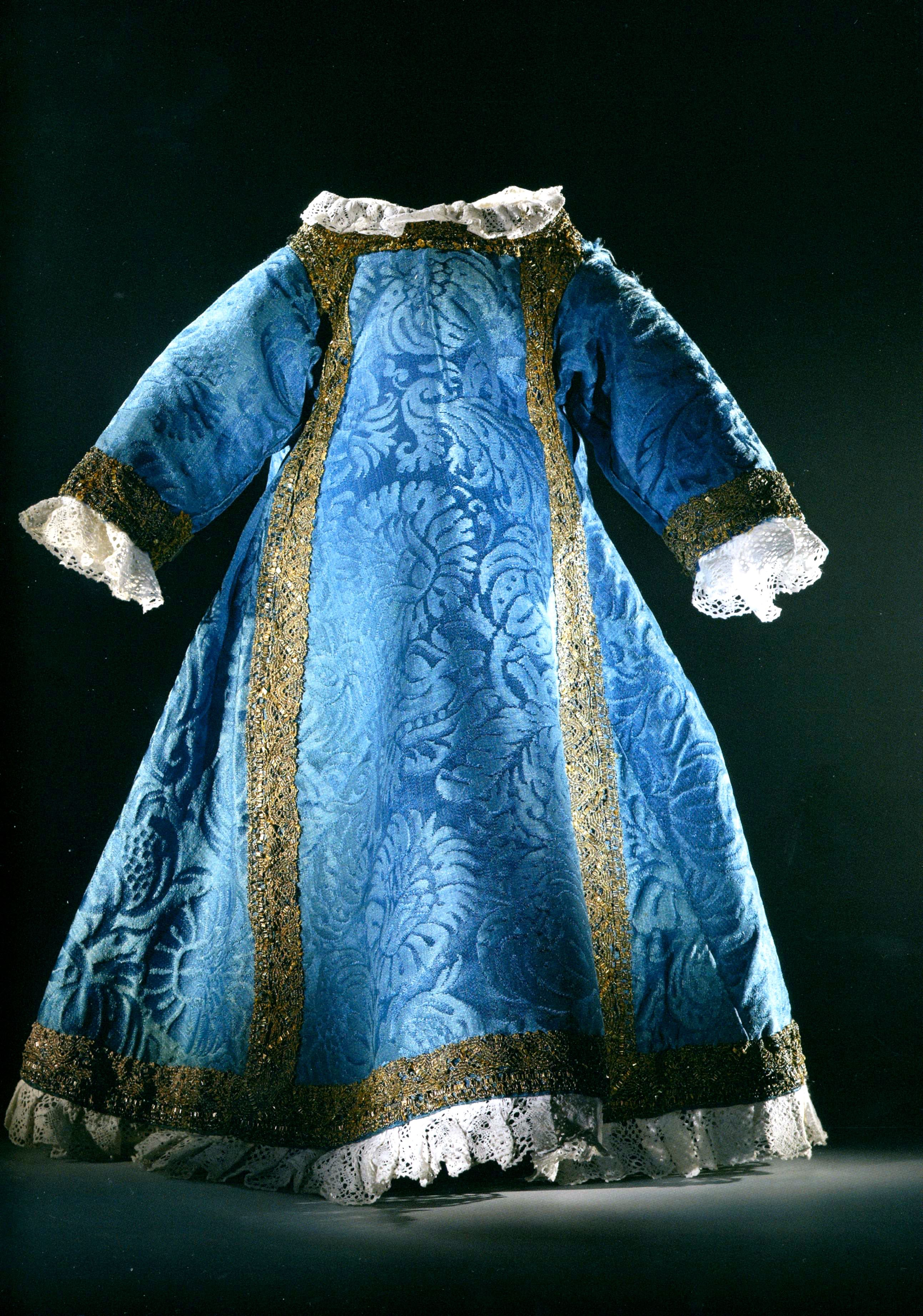 kleedje blauw090