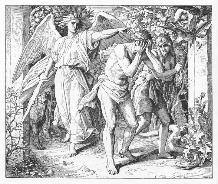 the-exile-from-paradise-genesis-julius-schnoor-von-carolsfeld